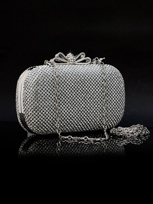 SheenOut Rhinestones Evening Women's Handbag