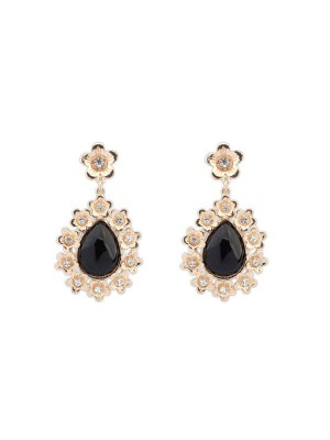 SheenOut All-match Floret Water Drop Temperament Earrings