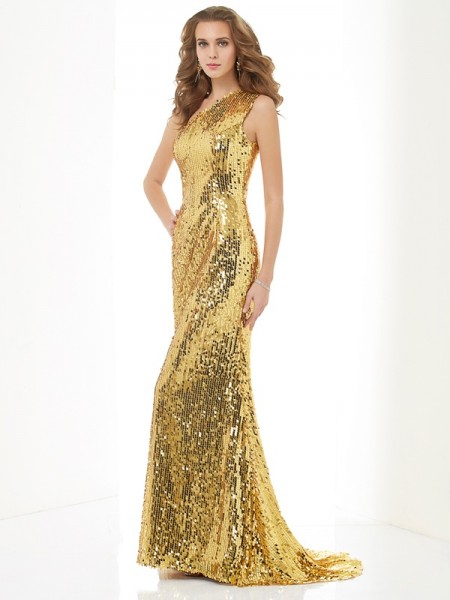 Sheath/Column Gold Lace