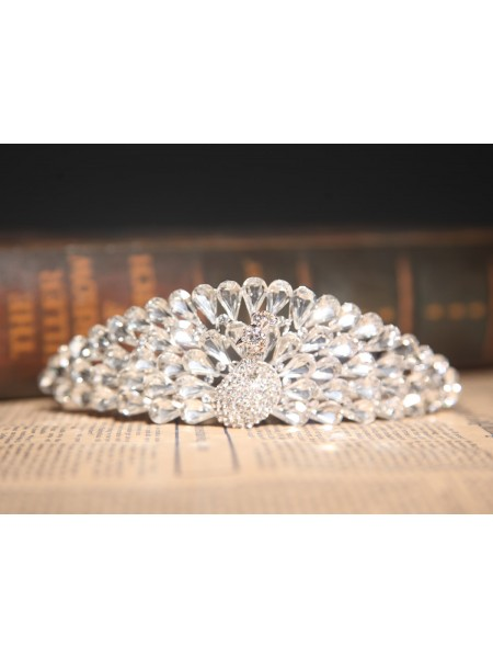 Gorgeous Czech Rhinestones Wedding Headpieces