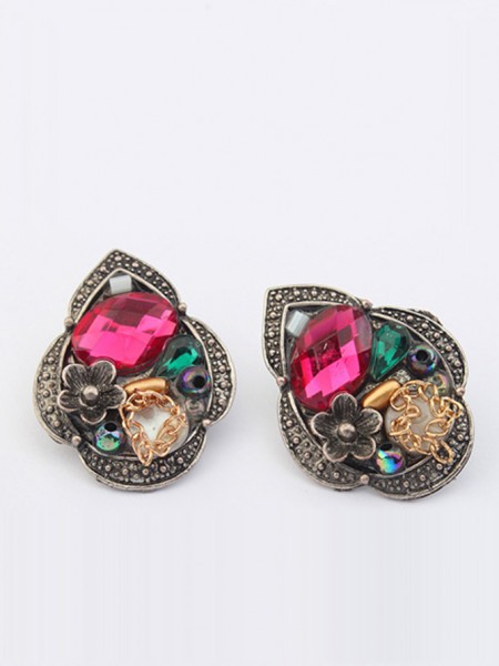 SheenOut Exotic Retro Personality Stud Earrings
