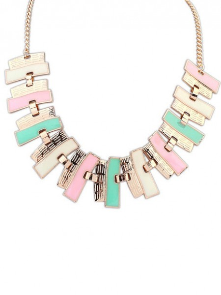 SheenOut New Stylish Geometry Simple Necklace