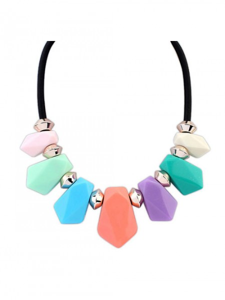 SheenOut Street shooting all-match Geometry Temperament Necklace
