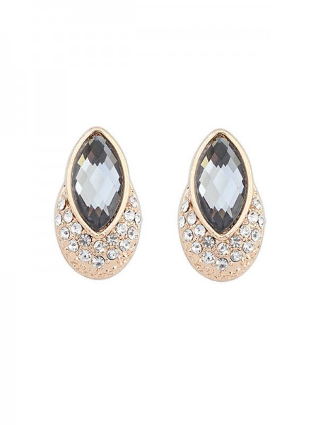 SheenOut Exquisite Gemstone Stud Earrings