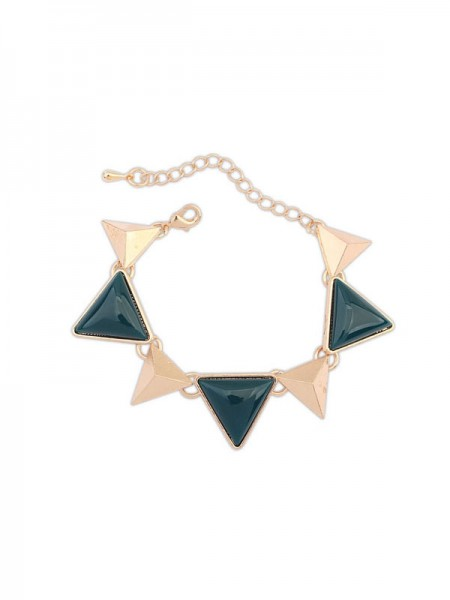 SheenOut Retro Punk Geometry Triangle Bracelets