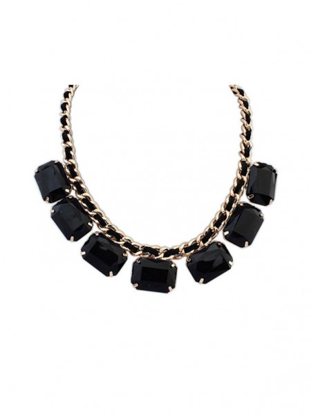 SheenOut Simple Blocks All-match New Necklace