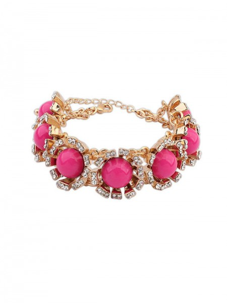 SheenOut New Street Shooting Collision Color Bracelets