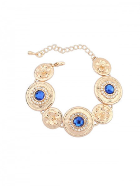 SheenOut Fashionable Popular Round Plate Bracelets