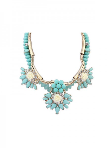 SheenOut Trendy Fashionable Hyperbolic Necklace