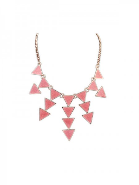 SheenOut Personality Triangle Punk Retro Necklace