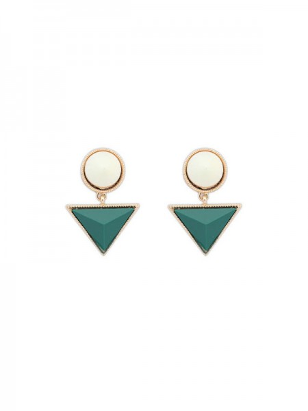 SheenOut Triangle Fashionable New Stud Earrings