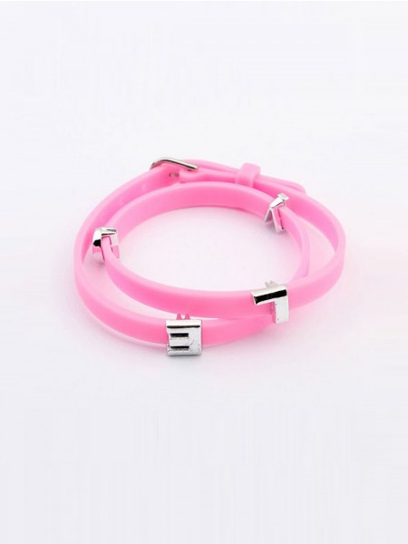 SheenOut Fashionable Candy Plastic Bracelets