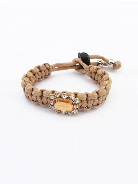 SheenOut All-match Woven Concise Bracelets