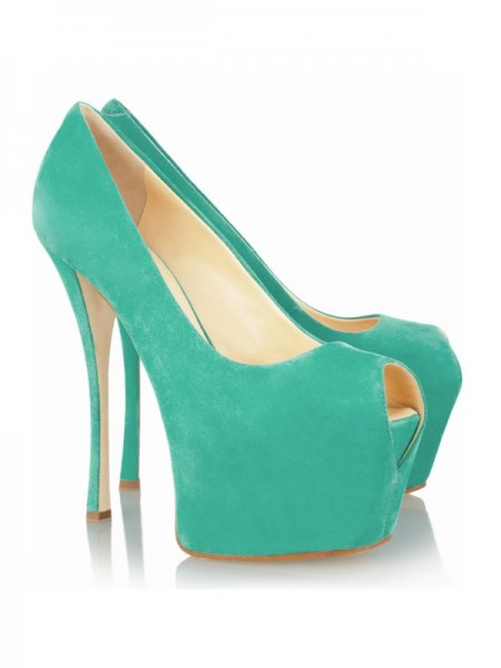 SheenOut Stiletto Heel Peep Toe Platform High Heels SMA01790LF